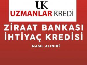 Ziraat Bankası İhtiyaç Kredisi 2020