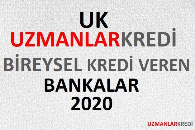 Bireysel Kredi Veren Bankalar 2020