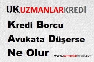 Read more about the article Kredi Borcu Avukata Düşerse