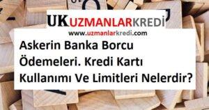 Askerin Banka Borcu